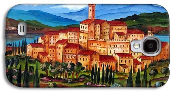 Village On The Lake Galaxy S4 Case by Roberto Gagliardi