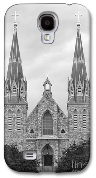 Collegiate Galaxy S4 Cases - Villanova University St. Thomas of Villanova Church Galaxy S4 Case by University Icons
