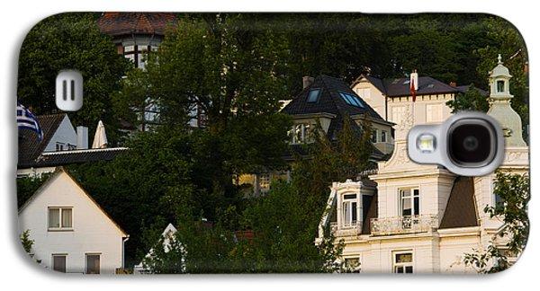 Hamburg Galaxy S4 Cases - Villas On A Hill, Blankenese, Hamburg Galaxy S4 Case by Panoramic Images