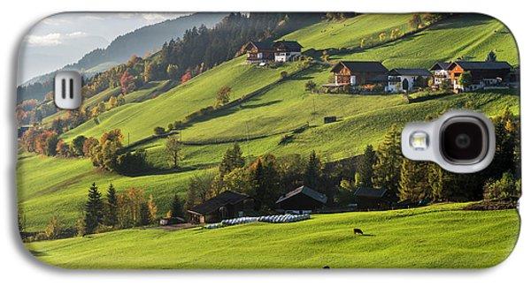 Villnoess Valley (val De Funes Galaxy S4 Case by Martin Zwick