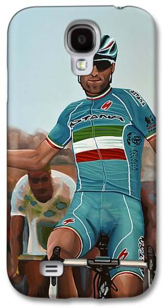 Cheers Galaxy S4 Cases - Vincenzo Nibali Galaxy S4 Case by Paul Meijering