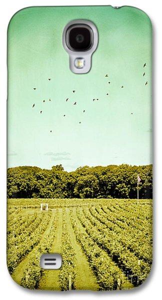 Original Art Photographs Galaxy S4 Cases - Vineyard Galaxy S4 Case by Colleen Kammerer