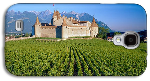 Wine Scene Galaxy S4 Cases - Vineyard In Front Of A Castle, Aigle Galaxy S4 Case by Panoramic Images
