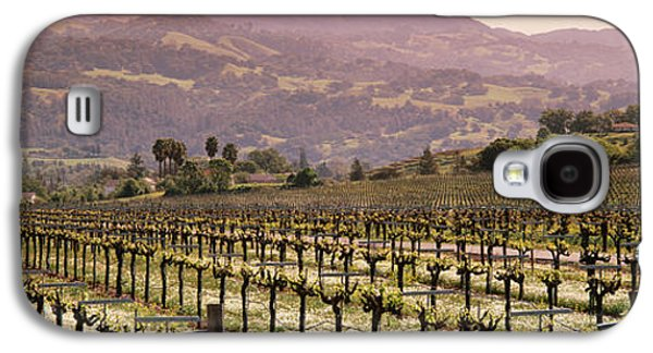 Vineyard On A Landscape, Asti Galaxy S4 Case by Panoramic Images