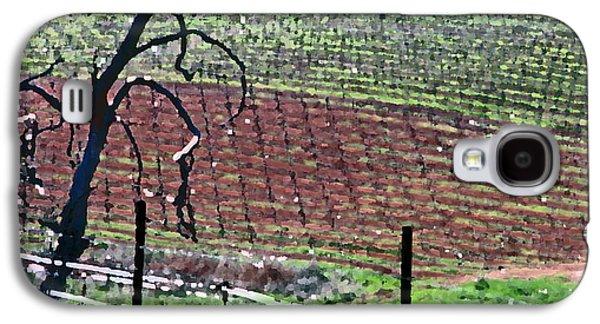 Vineyard Textures Galaxy S4 Case by Charlette Miller