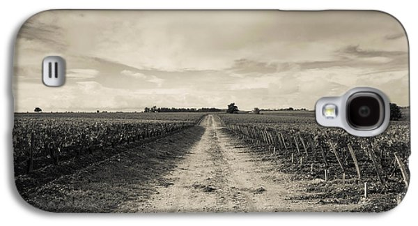 Haut Galaxy S4 Cases - Vineyards In Autumn, Pauillac, Haut Galaxy S4 Case by Panoramic Images