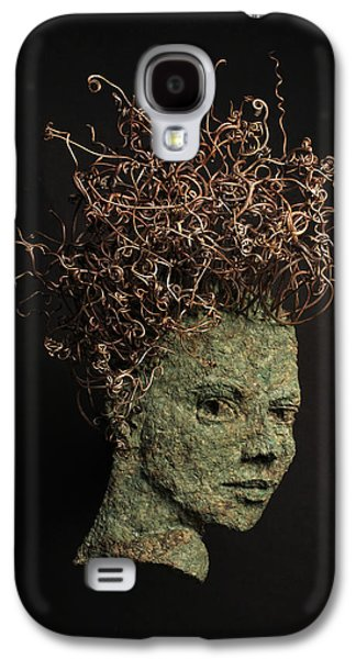 Figures Reliefs Galaxy S4 Cases - Vino Galaxy S4 Case by Adam Long
