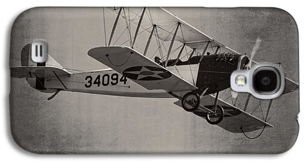 Curtiss Galaxy S4 Cases - Vintage 1917 Curtiss JN-4D Jenny Flying  Galaxy S4 Case by Keith Webber Jr