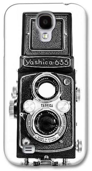 35mm Galaxy S4 Cases - Vintage 1950s Yashica 635 Camera Galaxy S4 Case by Jon Woodhams
