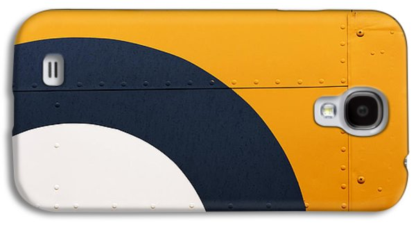 Design Photographs Galaxy S4 Cases - Vintage Airplane Abstract Design Galaxy S4 Case by Carol Leigh