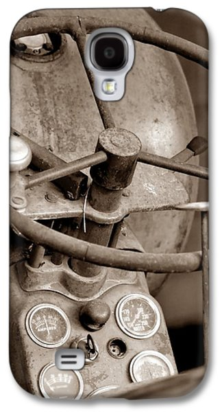 Machinery Galaxy S4 Cases - Vintage Allis D14  Galaxy S4 Case by Deena Stoddard