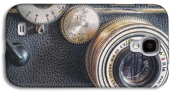 35mm Galaxy S4 Cases - Vintage Argus C3 35mm Film Camera Galaxy S4 Case by Scott Norris