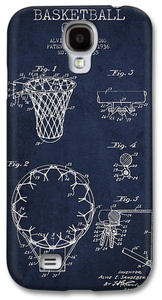 Recently Sold -  - Dunk Galaxy S4 Cases - Vintage Basketball Goal patent from 1936 Galaxy S4 Case by Aged Pixel