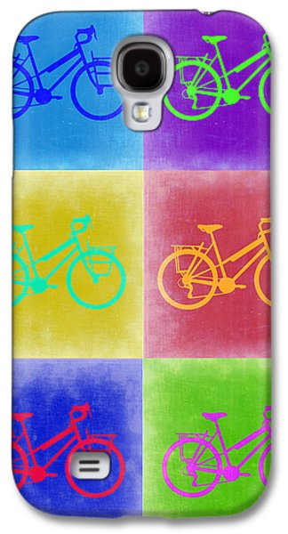 Vintage Bicycle Pop Art 2 Galaxy S4 Case by Naxart Studio