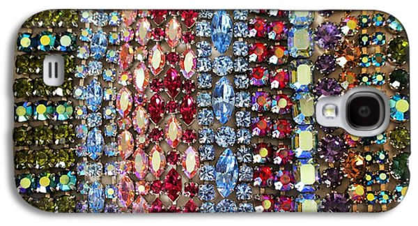 Girl Jewelry Galaxy S4 Cases - Vintage Bracelets Galaxy S4 Case by Peggy Davis