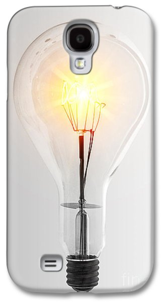 Components Galaxy S4 Cases - Vintage Bulb Galaxy S4 Case by Carlos Caetano