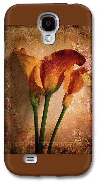 Vintage Calla Lily Galaxy S4 Case by Jessica Jenney