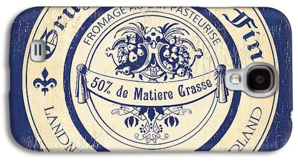 Vintage Cheese Label 5 Galaxy S4 Case by Debbie DeWitt