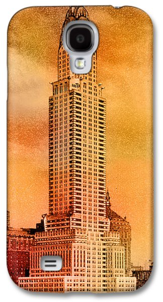 Buildings Galaxy S4 Cases - Vintage Chrysler Building Galaxy S4 Case by Andrew Fare