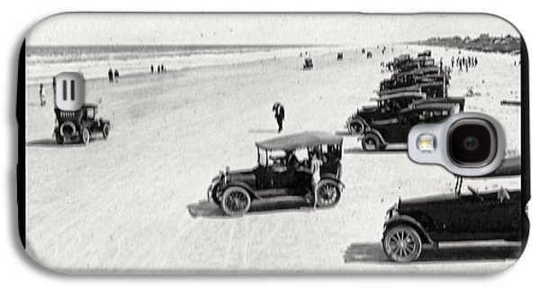 Ford Model T Car Galaxy S4 Cases - Vintage Daytona Beach Florida Galaxy S4 Case by Unknown