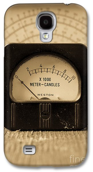 Electrical Photographs Galaxy S4 Cases - Vintage Electrical Meters Galaxy S4 Case by Edward Fielding