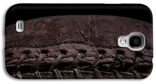 Sports Photographs Galaxy S4 Cases - Vintage Football Square Format Galaxy S4 Case by Edward Fielding