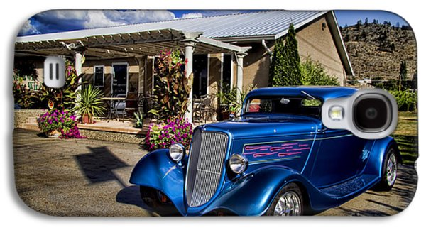 Vintage Ford Coupe At Oliver Twist Winery Galaxy S4 Case by David Smith