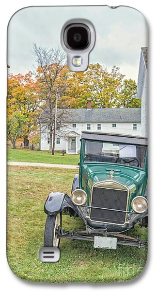 Auto Photographs Galaxy S4 Cases - Vintage Ford Model A Car Galaxy S4 Case by Edward Fielding