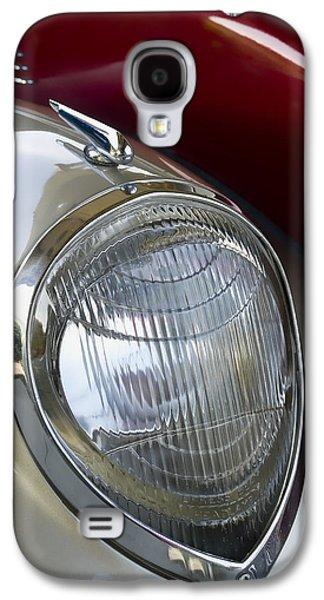 Diagonal Galaxy S4 Cases - Vintage Headlamp Galaxy S4 Case by Carol Leigh