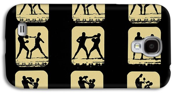 Boxer Digital Art Galaxy S4 Cases - Vintage - How to Box Galaxy S4 Case by Digital Reproductions