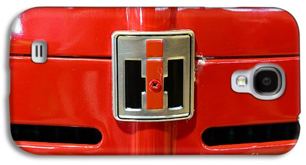 Equipment Galaxy S4 Cases - Vintage International Harvester Tractor Badge Galaxy S4 Case by Paul Ward