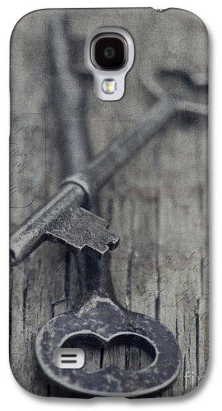 Vintage Keys Galaxy S4 Case by Priska Wettstein