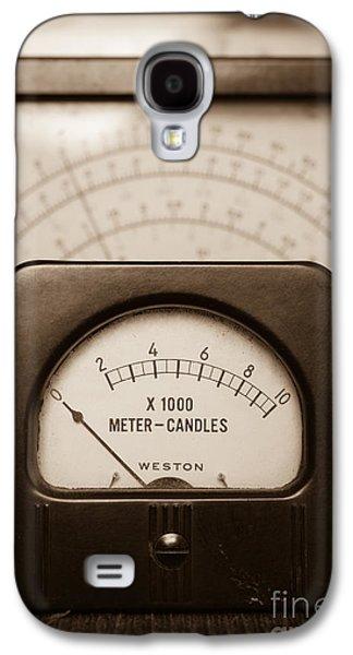 Radio Galaxy S4 Cases - Vintage Light Meter Galaxy S4 Case by Edward Fielding