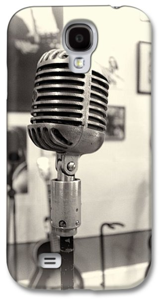 Tennessee Landmark Galaxy S4 Cases - Vintage Microphone Sun Studio Galaxy S4 Case by Dan Sproul