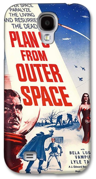 Vintage Movie Poster - Plan 9 From Outer Space Galaxy S4 Case by Mountain Dreams