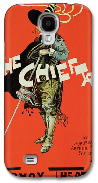 Sullivan Galaxy S4 Cases - Vintage Poster for The Chieftain at the Savoy Galaxy S4 Case by Dudley Hardy