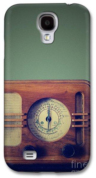 Radio Galaxy S4 Cases - Vintage Radio Galaxy S4 Case by Jelena Jovanovic