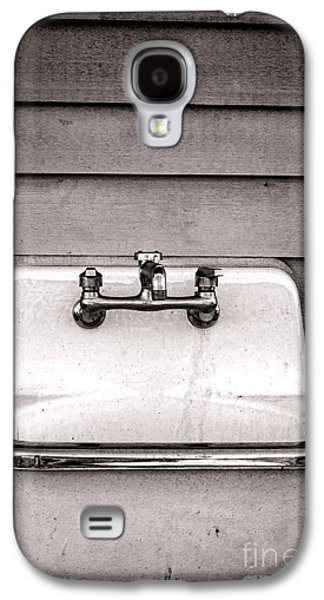 Vintage Photographs Galaxy S4 Cases - Vintage Sink Galaxy S4 Case by Olivier Le Queinec