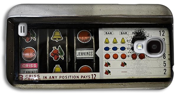 Working Conditions Photographs Galaxy S4 Cases - Vintage Slot Machine Galaxy S4 Case by JW Hanley