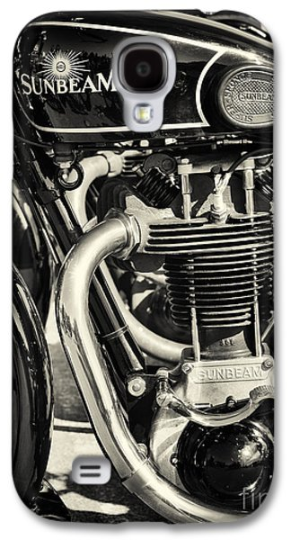Sunbeams Galaxy S4 Cases - Vintage Sunbeam Motorcycle Galaxy S4 Case by Tim Gainey