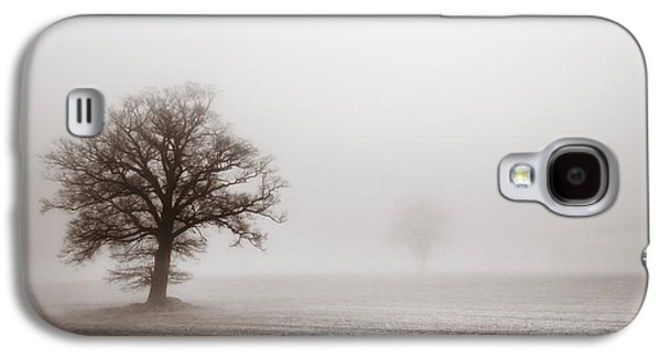 Peaceful Scene Galaxy S4 Cases - Vintage treescape Galaxy S4 Case by Chris Fletcher