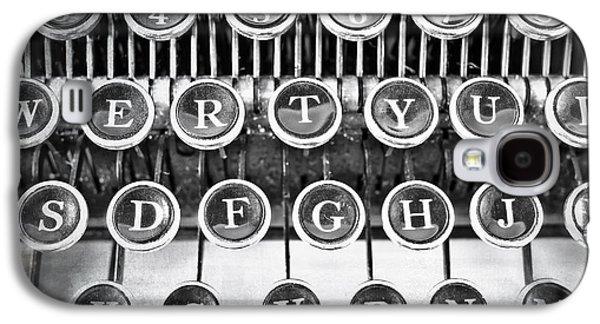 Vintage Typewriter Galaxy S4 Case by Edward Fielding