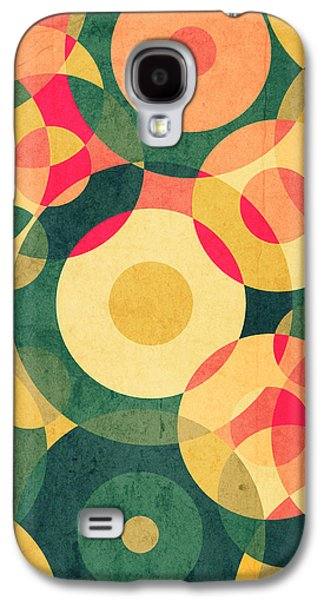Patterned Galaxy S4 Cases - Vintage Vacation Galaxy S4 Case by VessDSign