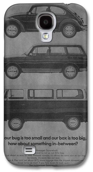 Mechanics Mixed Media Galaxy S4 Cases - Vintage Volkswagen Ad 1971 Galaxy S4 Case by Dan Sproul