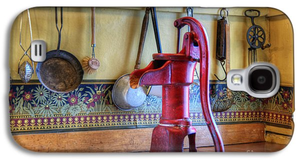 Historic Home Galaxy S4 Cases - Vintage Water Pump Galaxy S4 Case by Juli Scalzi