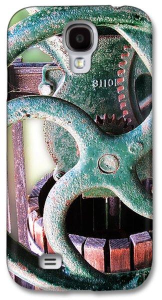 Mechanism Galaxy S4 Cases - Vintage Wine Press  Galaxy S4 Case by Dawn Gari