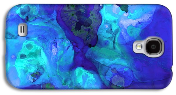 Purple Art Galaxy S4 Cases - Violet Blue - Abstract Art By Sharon Cummings Galaxy S4 Case by Sharon Cummings