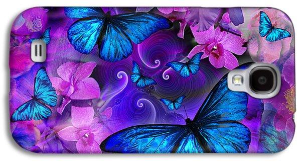 Fantasy Photographs Galaxy S4 Cases - Violetmorpheus Version 2 Galaxy S4 Case by Alixandra Mullins