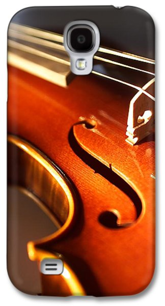 Hanging Galaxy S4 Cases - Violin VI Galaxy S4 Case by Jon Neidert