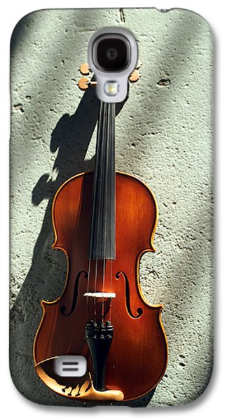Hanging Galaxy S4 Cases - Violin XV Galaxy S4 Case by Jon Neidert